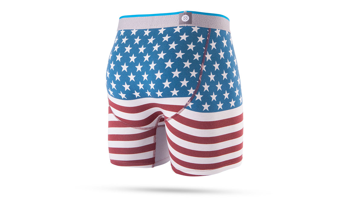 Men's Stance Bicentennial Boxer Brief - Color: Red Size: S, Red, large, image 2
