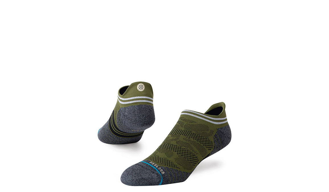 Men's Stance Hostile Tab - Color: Green Size: M, Green, large, image 1