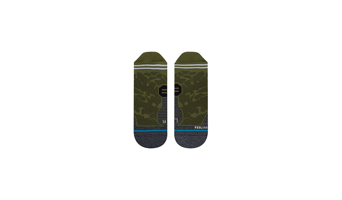 Men's Stance Hostile Tab - Color: Green Size: M, Green, large, image 2
