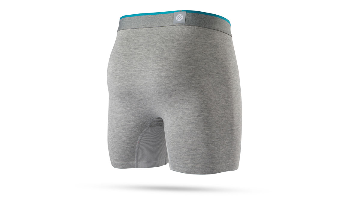 Men's Stance Staple 17 Boxer Brief - Color: Heather Grey Size: S, Heather Grey, large, image 2