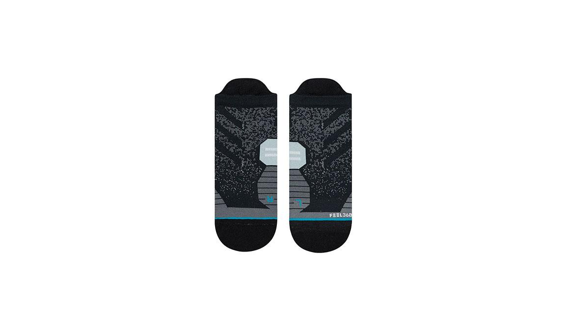 Men's Stance Uncommon Run Tab  - Color: Black Size: M, Black, large, image 2