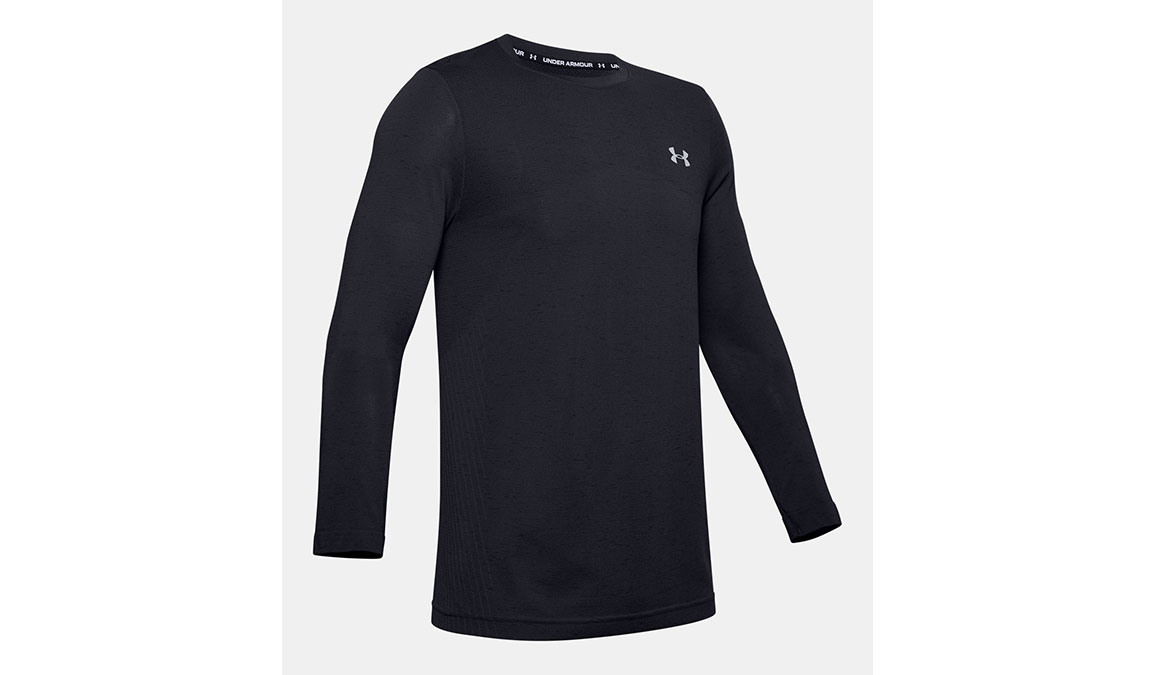 Men's Under Armour Seamless Long Sleeve - Color: Black Size: S, Black, large, image 6