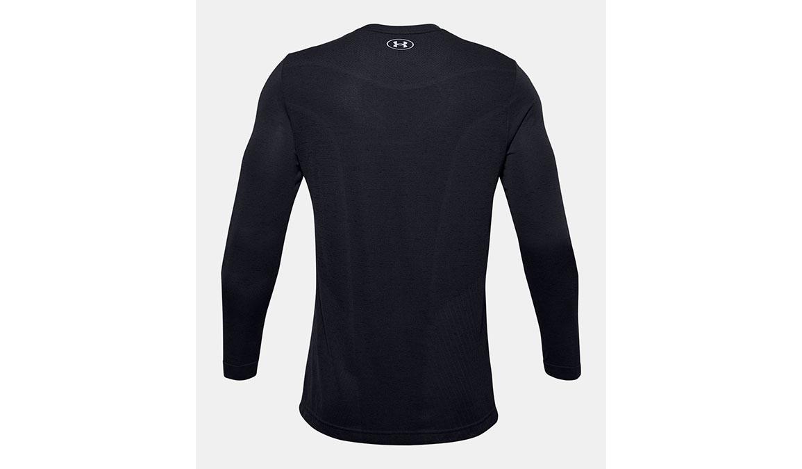 Men's Under Armour Seamless Long Sleeve - Color: Black Size: S, Black, large, image 7