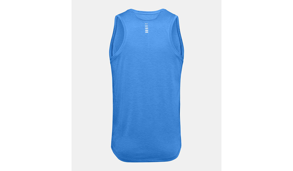 Men's Under Armour Streaker 2.0 Singlet Tank - Color: Water Size: S, Water, large, image 7