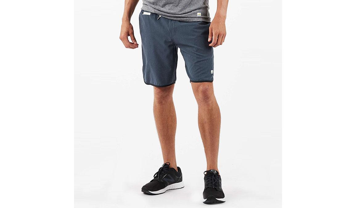 "Men's Vuori Banks 8"" Short  - Color: Azure Linen Texture Size: S, Azure Linen Texture, large, image 1"