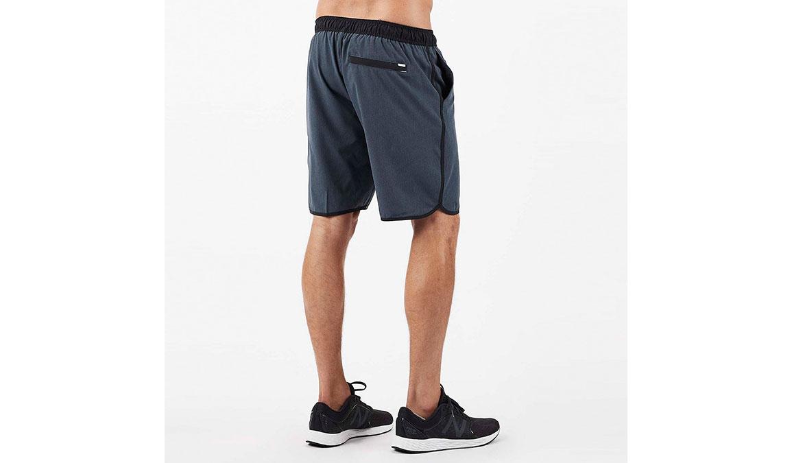 "Men's Vuori Banks 8"" Short  - Color: Azure Linen Texture Size: S, Azure Linen Texture, large, image 3"