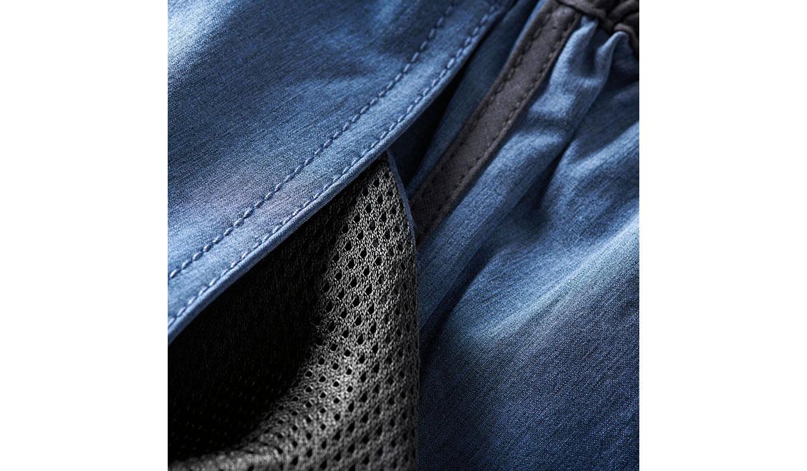 "Men's Vuori Banks 8"" Short  - Color: Azure Linen Texture Size: S, Azure Linen Texture, large, image 4"
