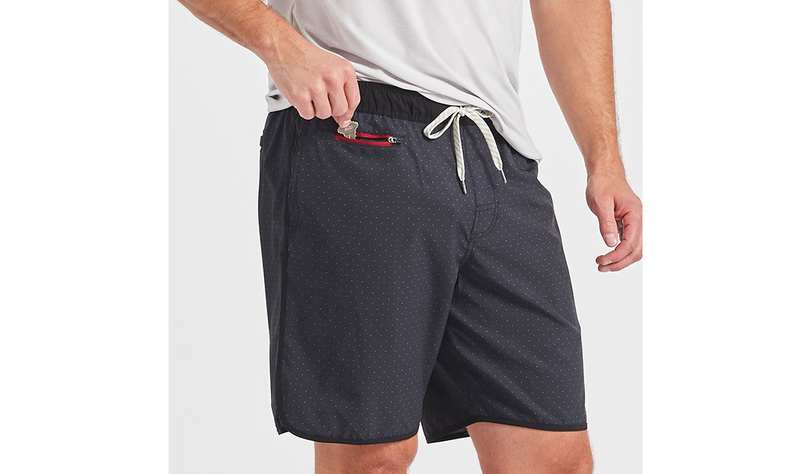 "Men's Vuori Banks 8"" Short  - Color: Black Micro Dot Size: M, Black Micro Dot, large, image 2"