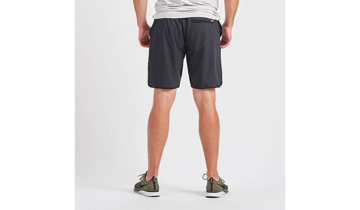 "Men's Vuori Banks 8"" Short  - Color: Black Micro Dot Size: M, Black Micro Dot, large, image 4"
