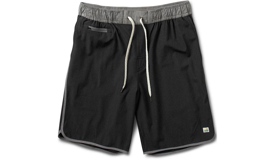 "Men's Vuori Banks 8"" Short - Color: Black Size: S, Black, large, image 4"