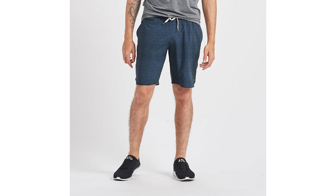 """Men's Vuori Banks 8"""" Short - Color: Ink Cell Texture Size: S, Ink Cell Texture, large, image 1"""