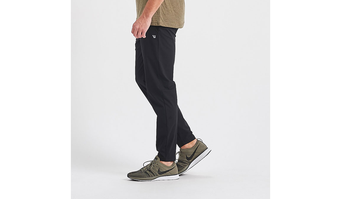 Men's Vuori Fleet Pant - Color: Black Size: S, Black, large, image 2