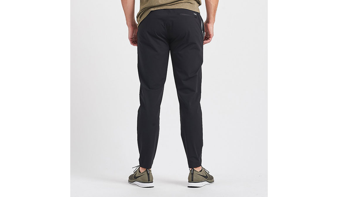 Men's Vuori Fleet Pant - Color: Black Size: S, Black, large, image 3