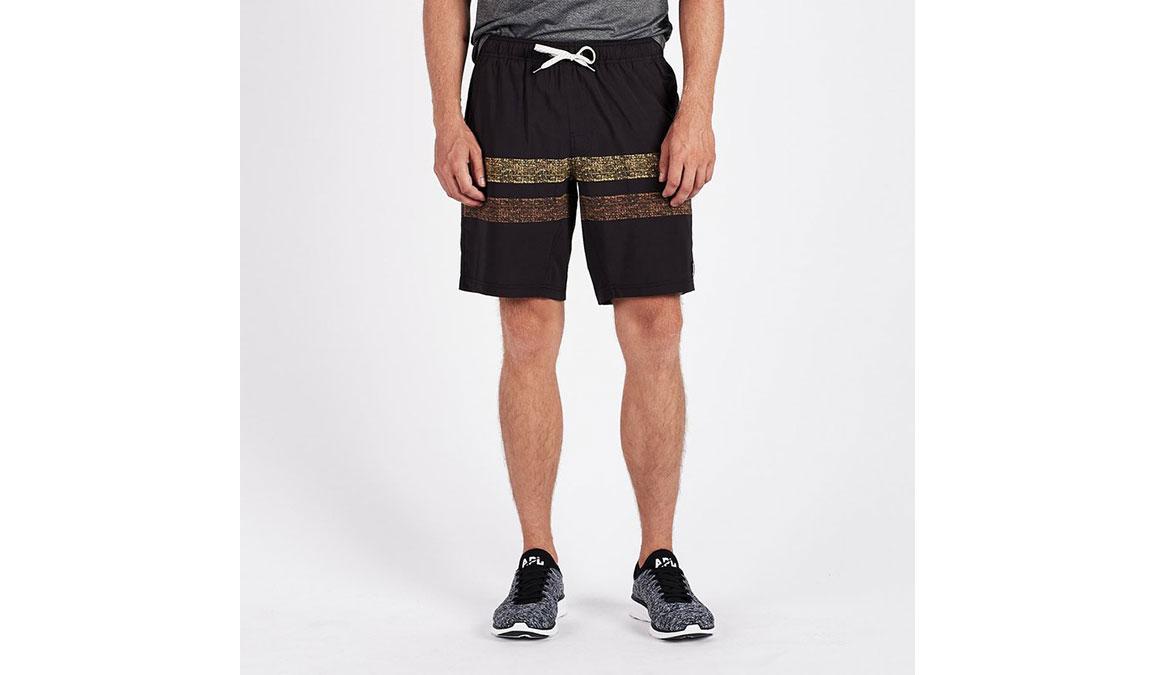 """Men's Vuori Kore 8"""" Short - Color: Black Saffron Size: S, Black Saffron, large, image 1"""