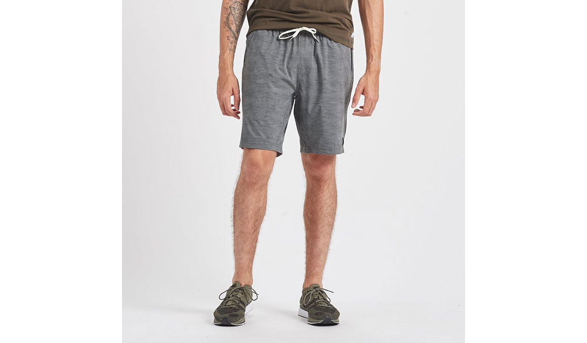 "Men's Vuori Kore 8"" Short - Color: Charcoal Space Dye Size: S, Charcoal Space Dye, large, image 1"