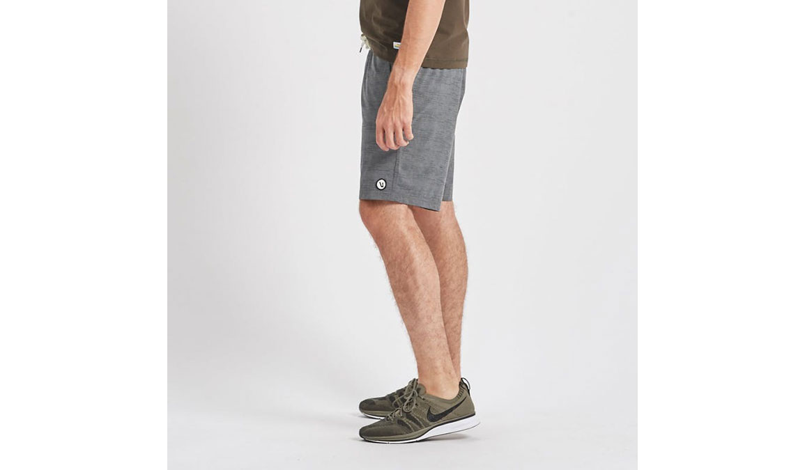 "Men's Vuori Kore 8"" Short - Color: Charcoal Space Dye Size: S, Charcoal Space Dye, large, image 2"