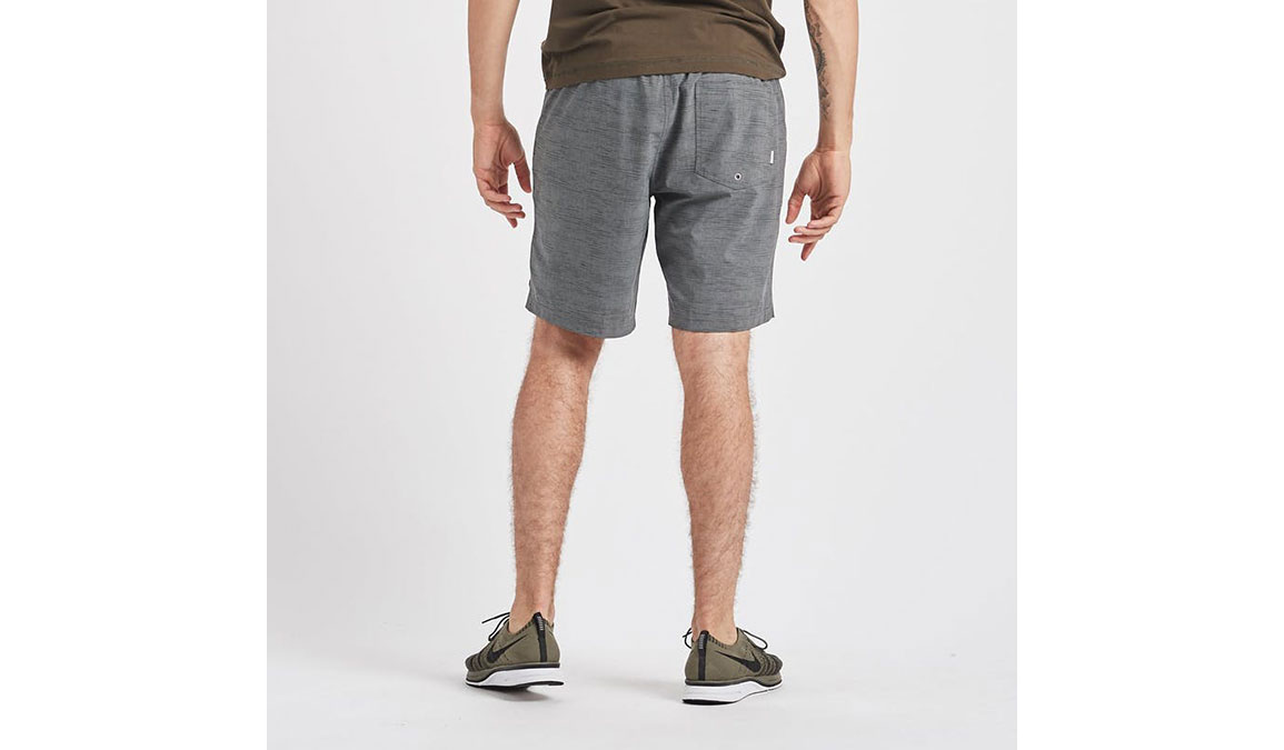 "Men's Vuori Kore 8"" Short - Color: Charcoal Space Dye Size: S, Charcoal Space Dye, large, image 3"