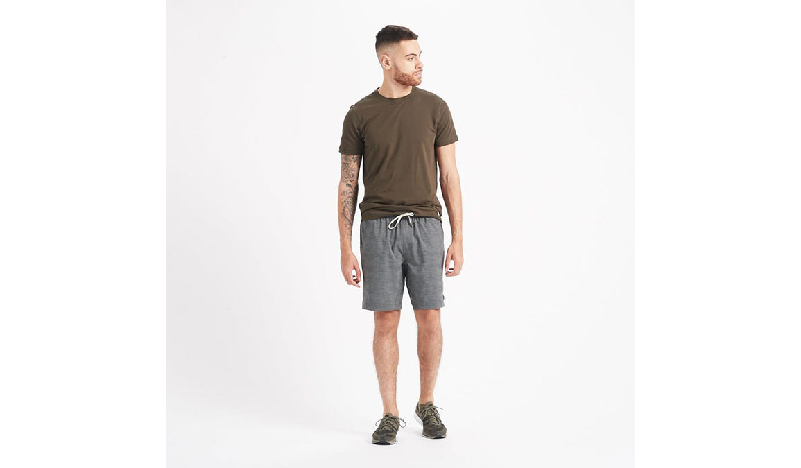 "Men's Vuori Kore 8"" Short - Color: Charcoal Space Dye Size: S, Charcoal Space Dye, large, image 4"