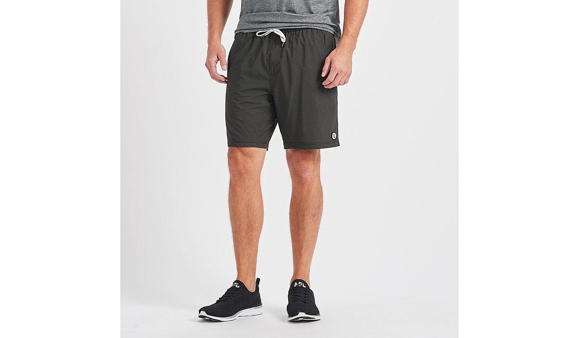 """Men's Vuori Kore 8"""" Short - Color: Evergreen Black Stripe Size: S, Evergreen Black Stripe, large, image 1"""