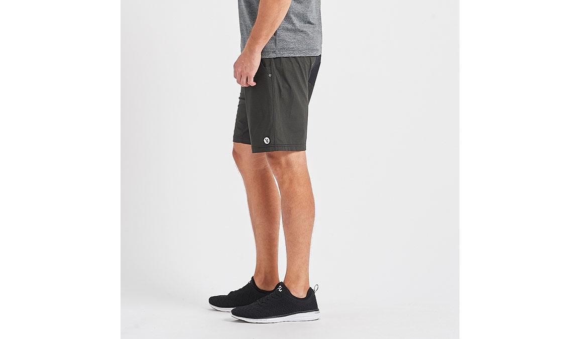 """Men's Vuori Kore 8"""" Short - Color: Evergreen Black Stripe Size: S, Evergreen Black Stripe, large, image 2"""