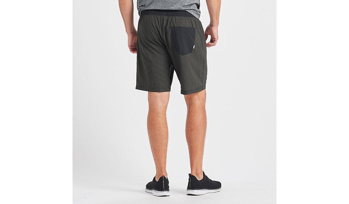 """Men's Vuori Kore 8"""" Short - Color: Evergreen Black Stripe Size: S, Evergreen Black Stripe, large, image 3"""