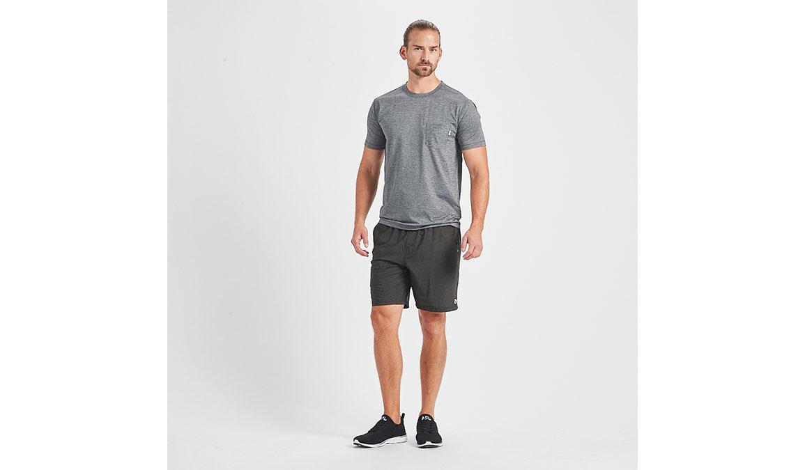 """Men's Vuori Kore 8"""" Short - Color: Evergreen Black Stripe Size: S, Evergreen Black Stripe, large, image 4"""
