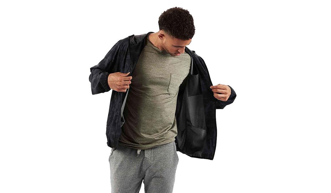 Men's Vuori Outdoor Trainer Shell - Color: Black Camo Size: M, Black Camo, large, image 1