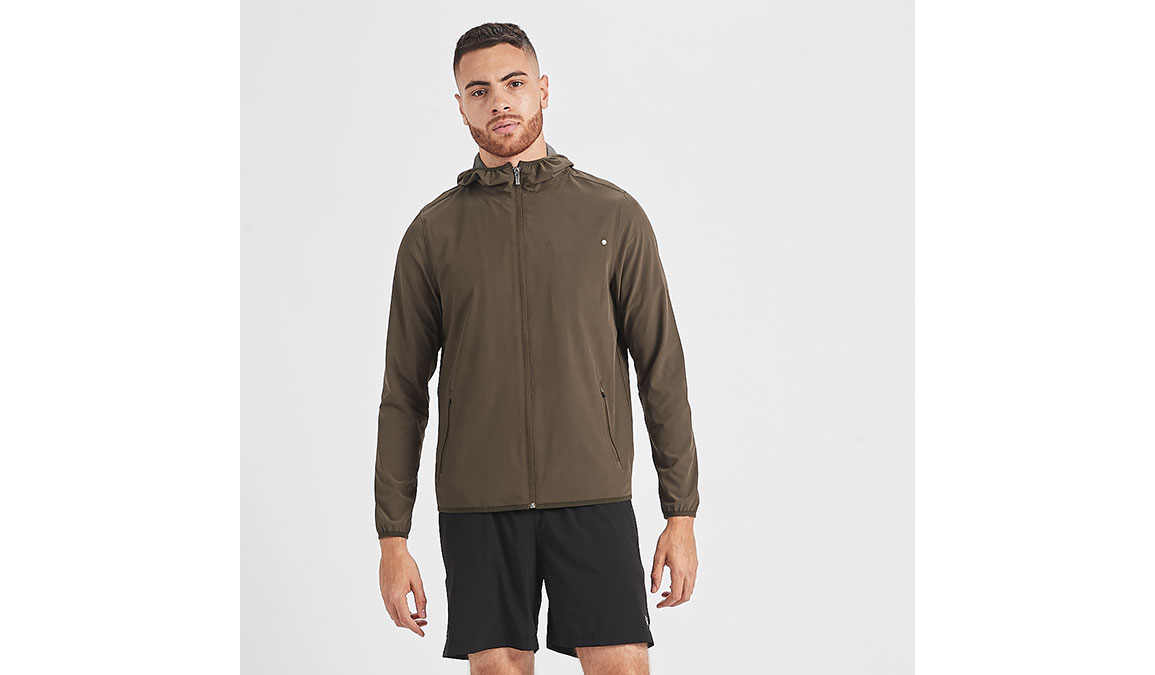 Men's Vuori Outdoor Trainer Shell  - Color: Evergreen Size: S, Evergreen, large, image 1