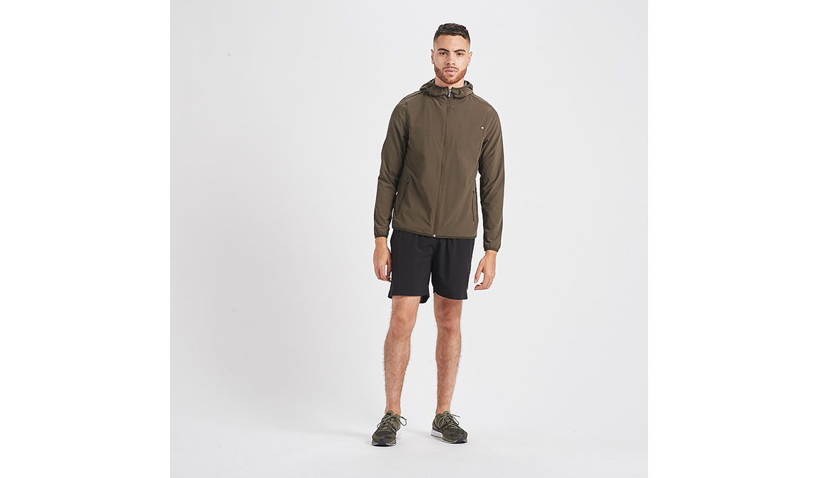 Men's Vuori Outdoor Trainer Shell  - Color: Evergreen Size: S, Evergreen, large, image 4