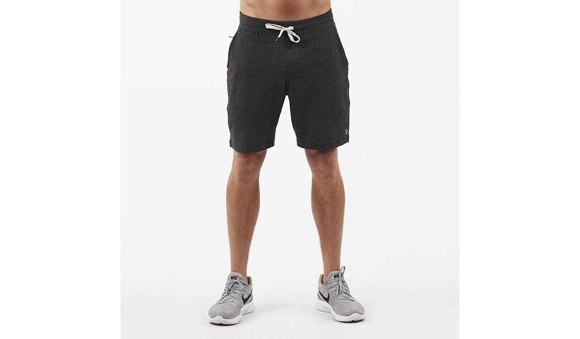 "Men's Vuori Ponto 7.5"" Shorts - Color: Charcoal Size: M, Charcoal, large, image 1"