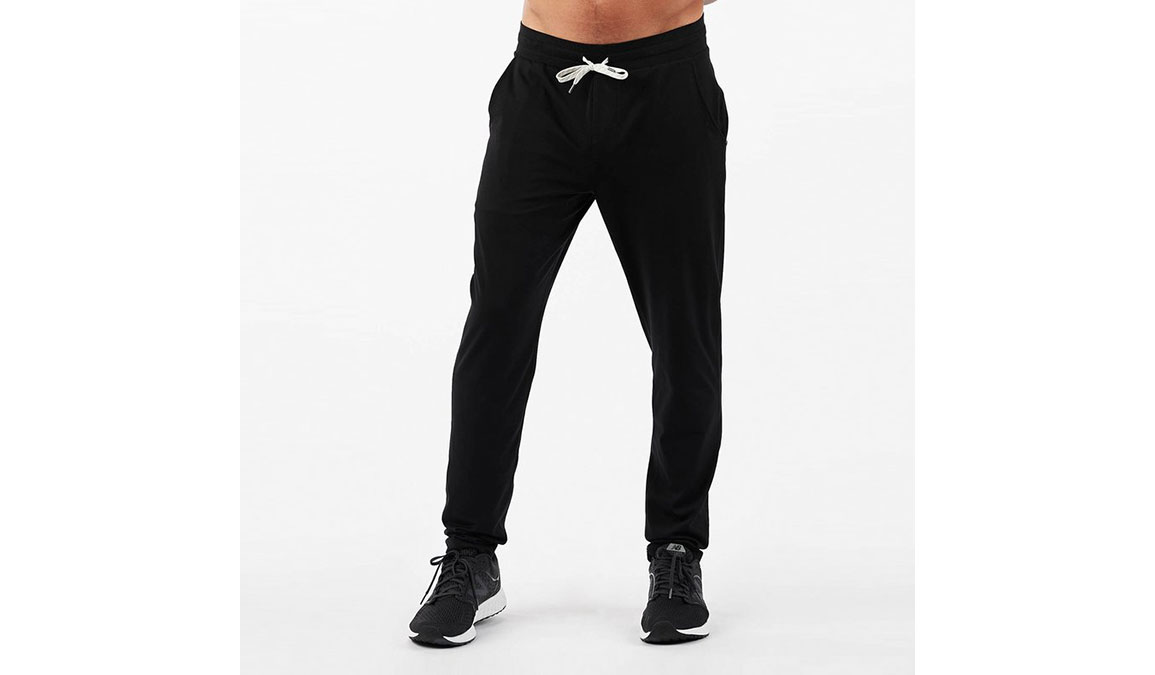 Men's Vuori Ponto Performance Pants - Color: Black Size: S, Black, large, image 1