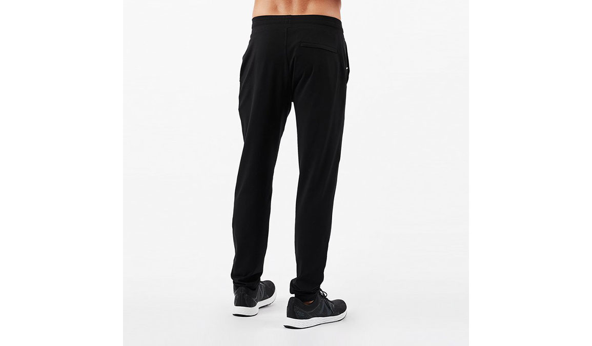 Men's Vuori Ponto Performance Pants - Color: Black Size: S, Black, large, image 2