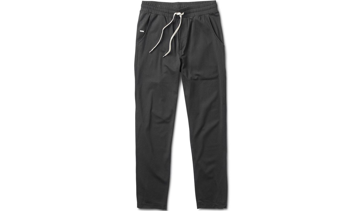 Men's Vuori Ponto Performance Pants - Color: Black Size: S, Black, large, image 4