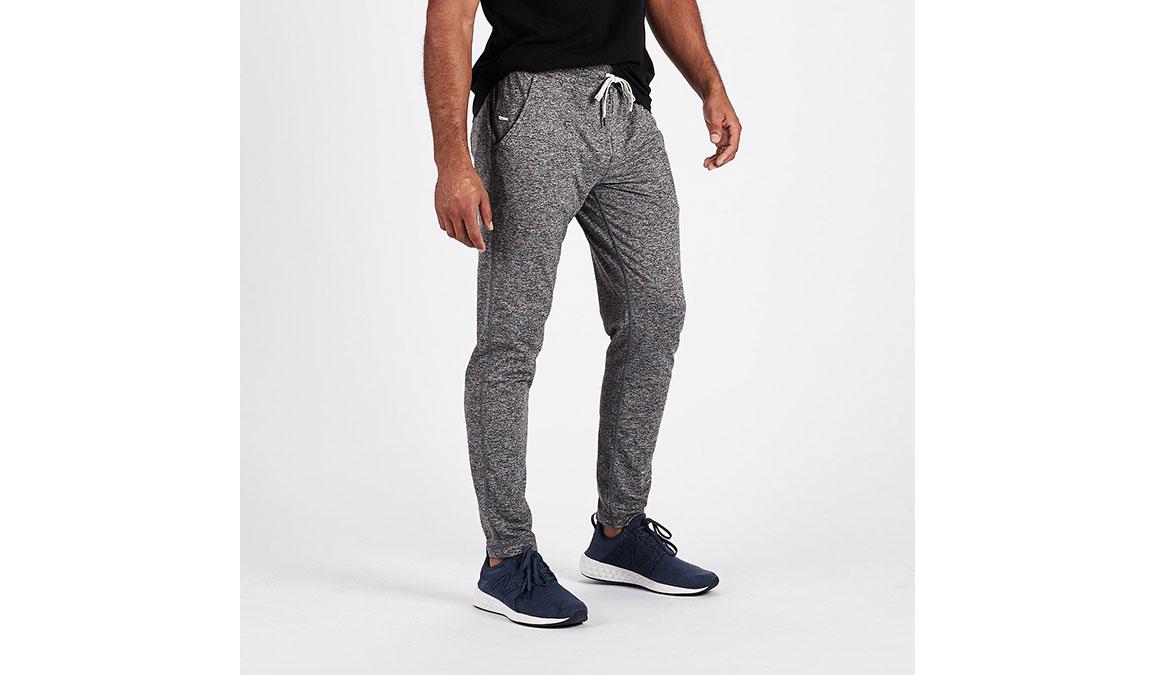 Men's Vuori Ponto Performance Pants - Color: Heather Grey Size: S, Heather Grey, large, image 2