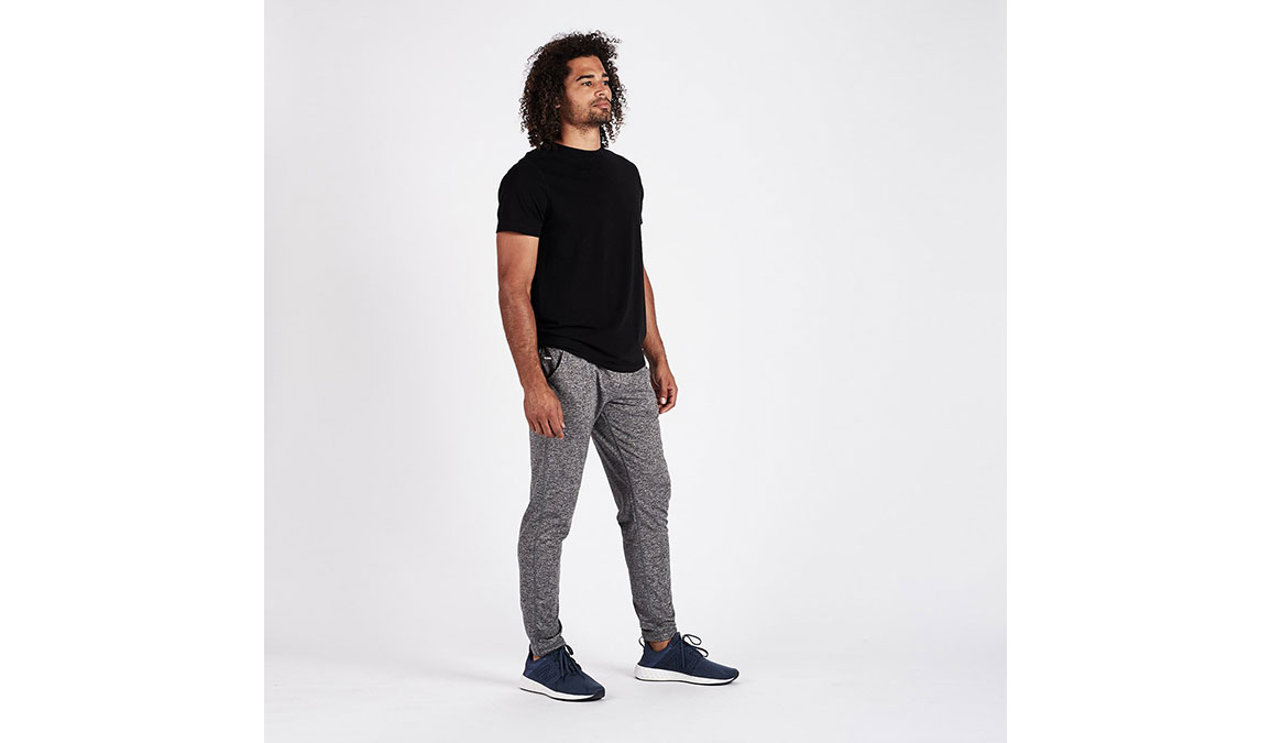 Men's Vuori Ponto Performance Pants - Color: Heather Grey Size: S, Heather Grey, large, image 4