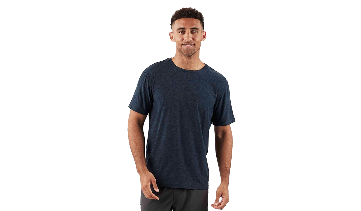 Men's Vuori Strato Tech Tee  - Color: Navy Size: S, Navy, large, image 1