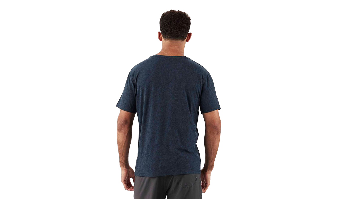 Men's Vuori Strato Tech Tee  - Color: Navy Size: S, Navy, large, image 2