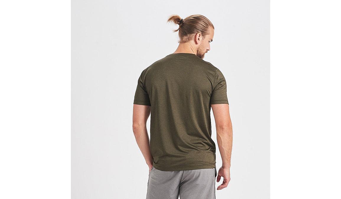 Men's Vuori Tradewind Performance Tee - Color: Evergreen Heather Size: S, Evergreen Heather, large, image 3