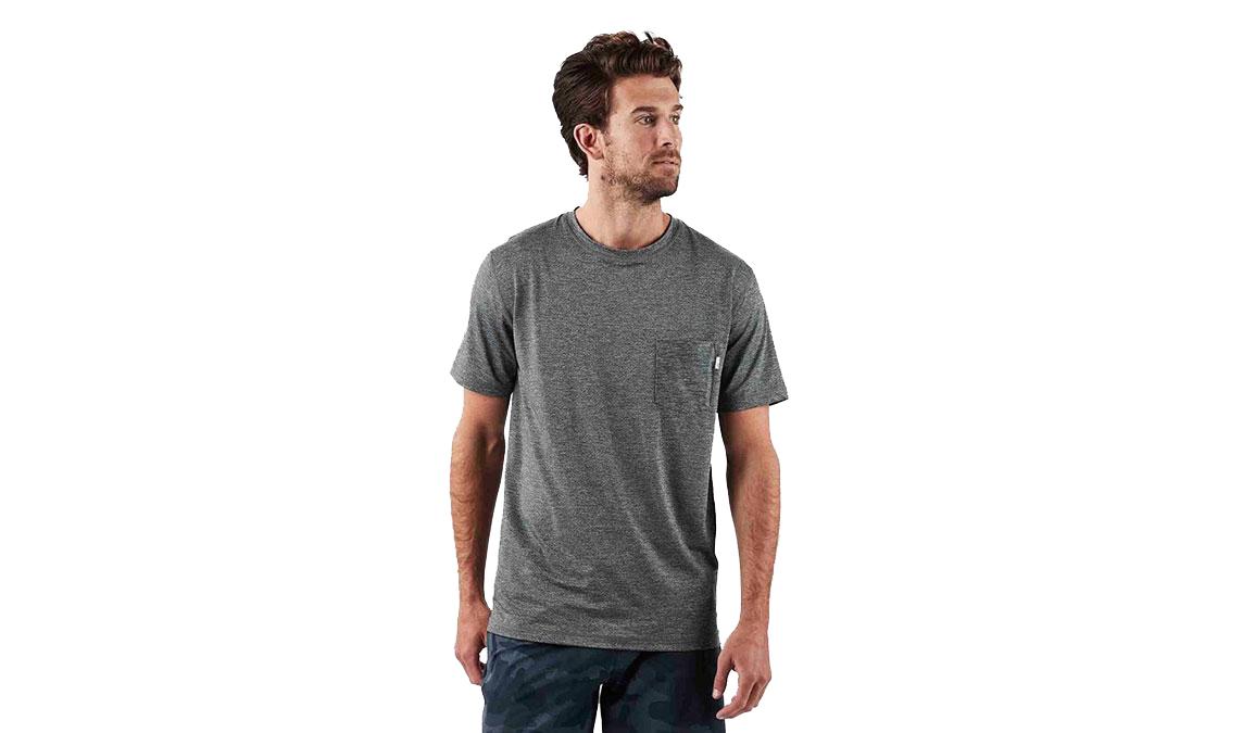 Men's Vuori Tradewind Performance Tee  - Color: Heather Grey Size: S, Heather Grey, large, image 1