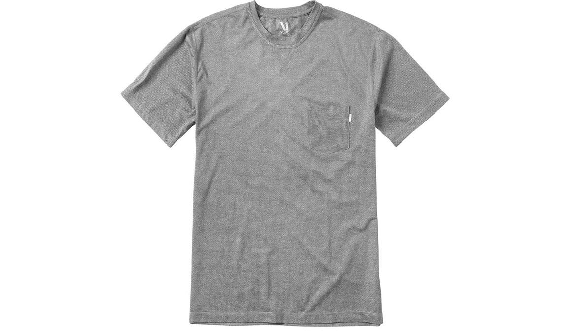 Men's Vuori Tradewind Performance Tee  - Color: Heather Grey Size: S, Heather Grey, large, image 4