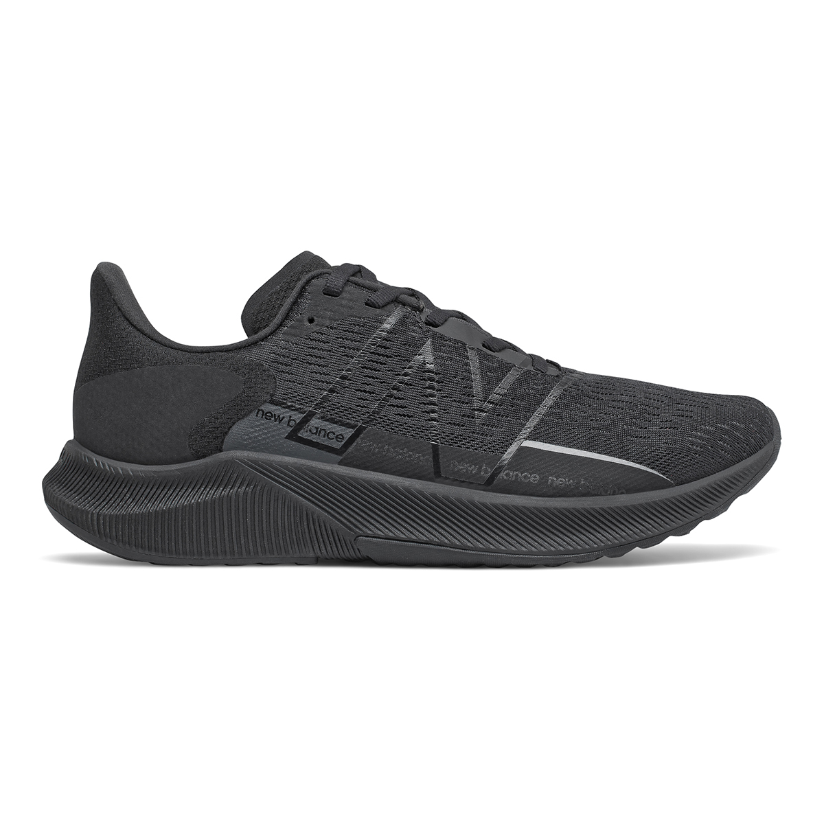 Men's New Balance Fuelcell Propel V2 Running Shoe - Color: Black - Size: 7 - Width: Wide, Black, large, image 1
