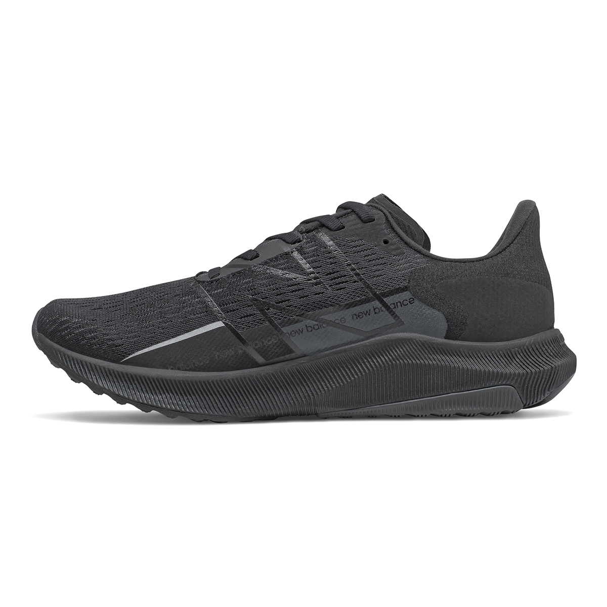 Men's New Balance Fuelcell Propel V2 Running Shoe - Color: Black - Size: 7 - Width: Wide, Black, large, image 2