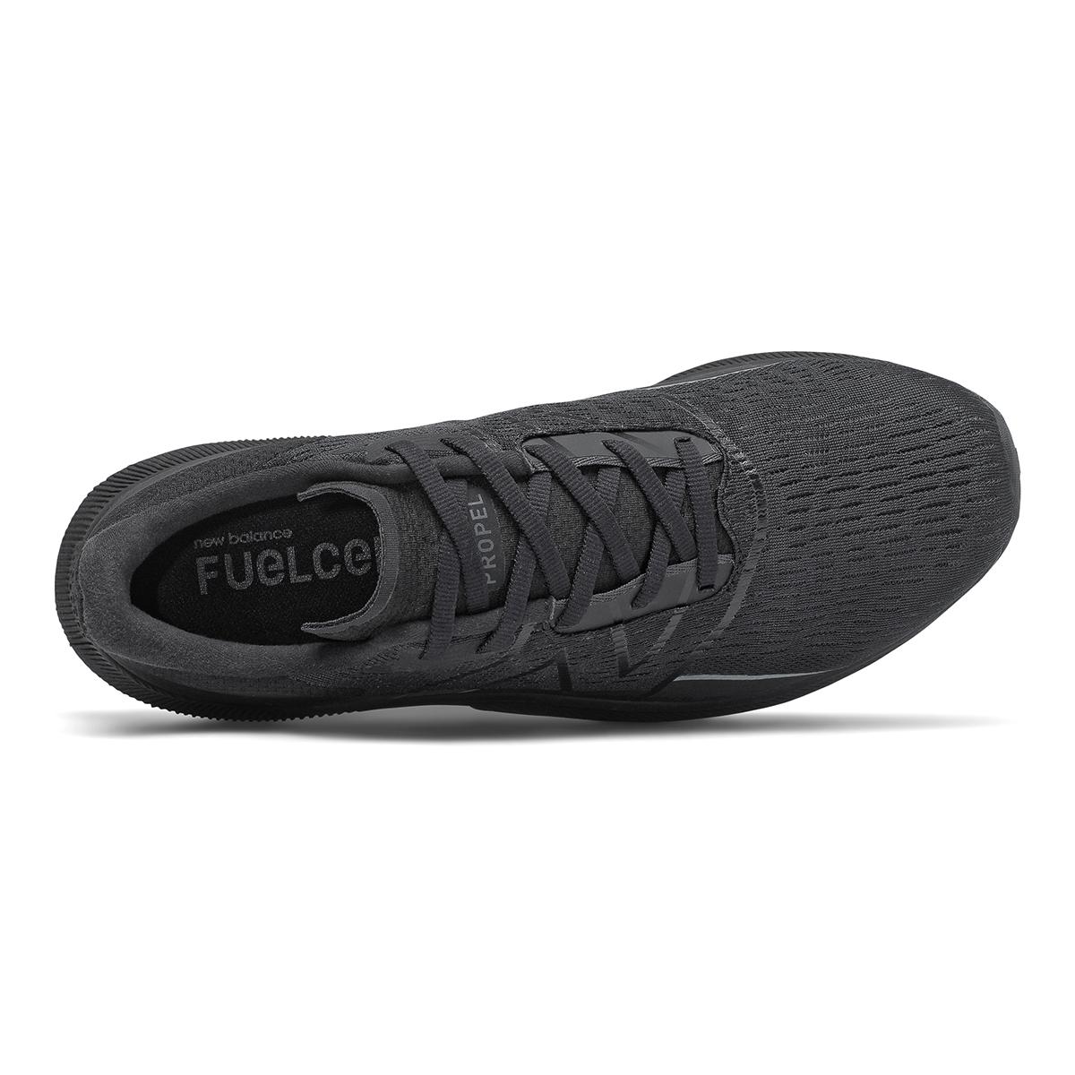 Men's New Balance Fuelcell Propel V2 Running Shoe - Color: Black - Size: 7 - Width: Wide, Black, large, image 3