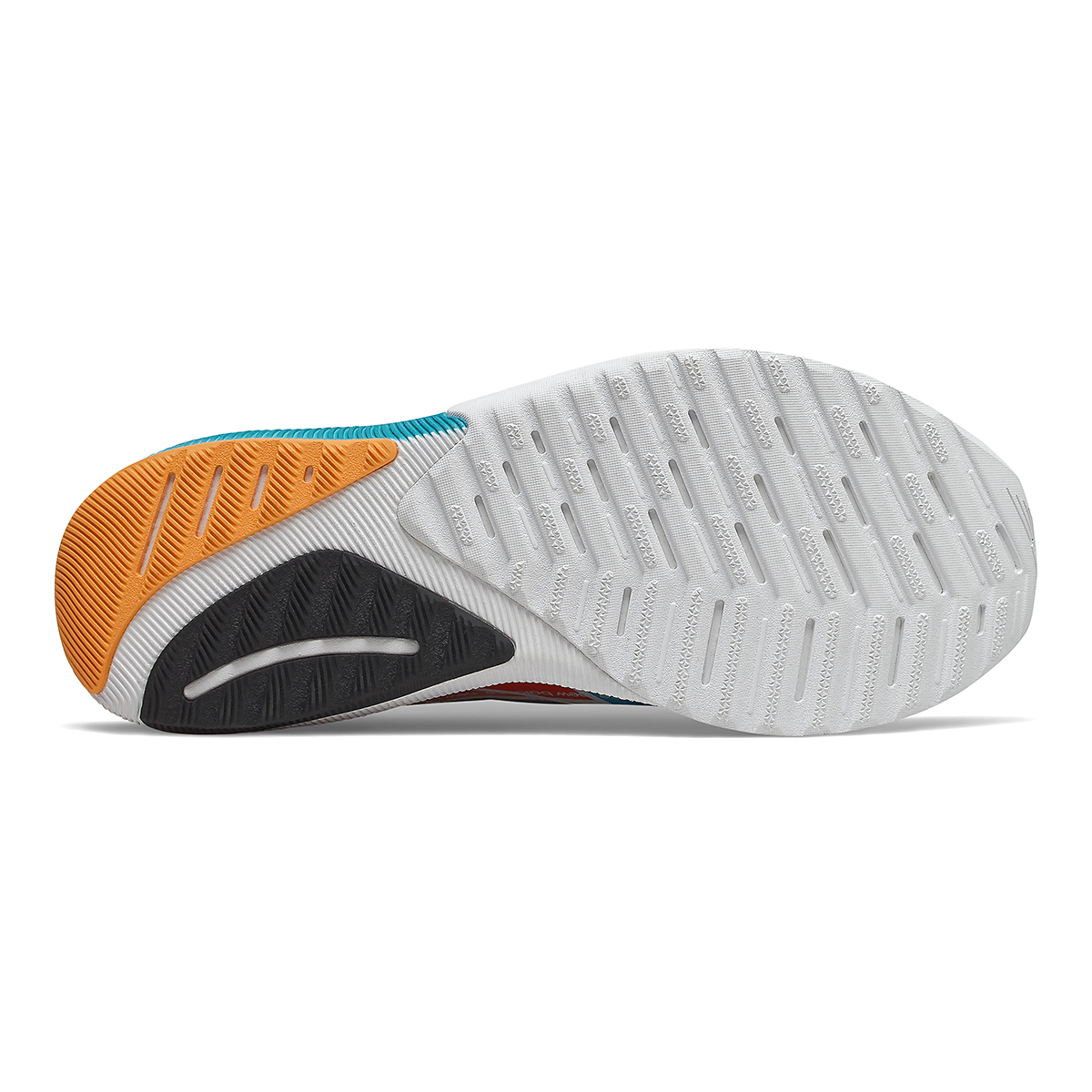 Men's New Balance Fuelcell Propel V2 Running Shoe - Color: Ocean Grey/Virtual Sky/Ghost Pepper - Size: 7 - Width: Regular, Ocean Grey/Virtual Sky/Ghost Pepper, large, image 4