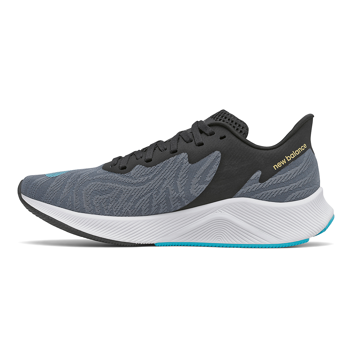 Men's New Balance Fuelcell Prism Running Shoe - Color: Ocean Grey/Virtual Sky - Size: 7 - Width: Wide, Ocean Grey/Virtual Sky, large, image 2
