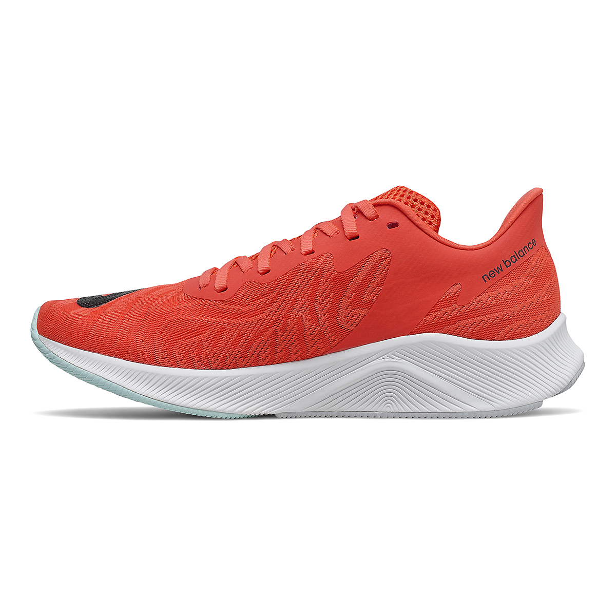 Men's New Balance Fuelcell Prism Running Shoe - Color: Ghost Pepper/Phantom - Size: 6 - Width: Wide, Ghost Pepper/Phantom, large, image 2