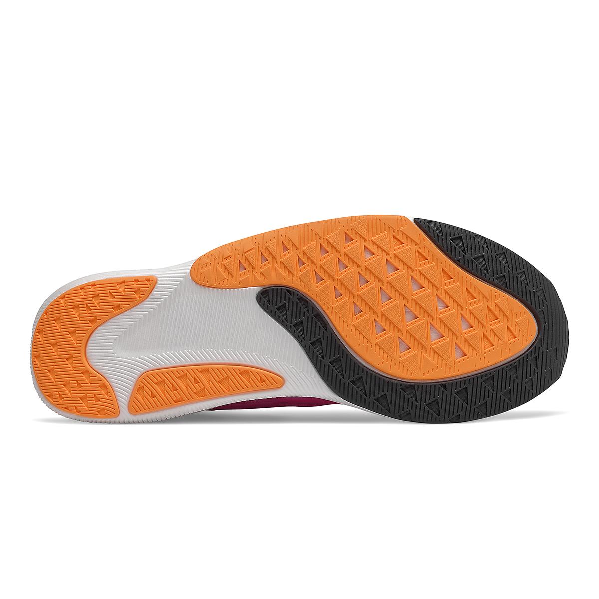 Men's New Balance Fuelcell Rebel V2 Running Shoe - Color: Pink Glo/Black - Size: 6 - Width: Wide, Pink Glo/Black, large, image 4