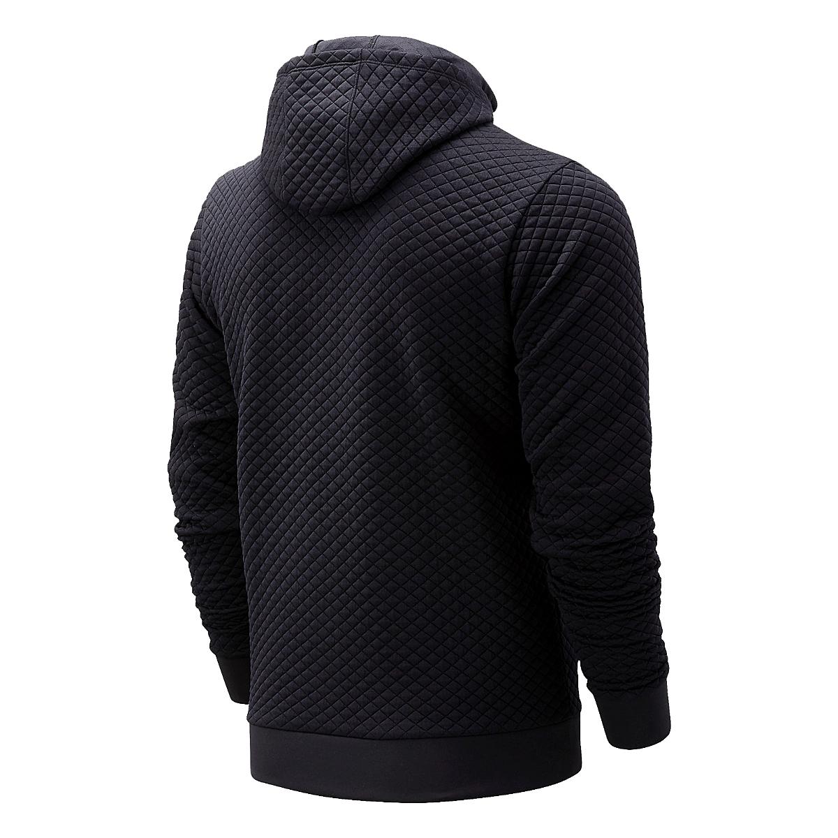 Men's New Balance Heatloft Full Zip - Color: Black - Size: S, Black, large, image 2