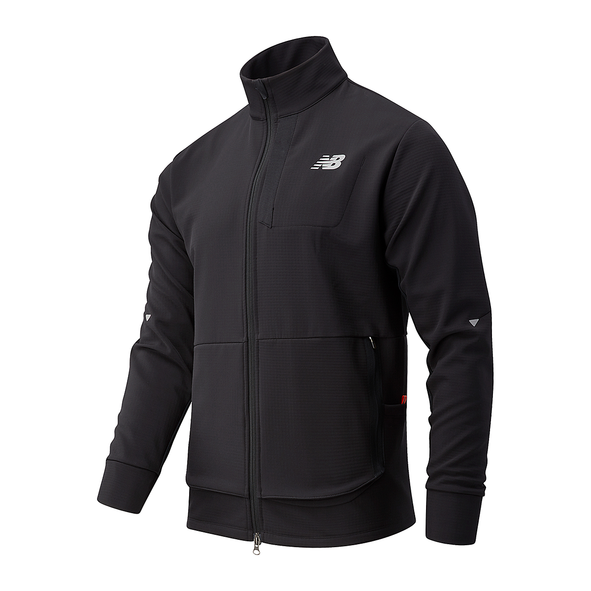 Men's New Balance Impact Run Winter Jacket - Color: Black - Size: S, Black, large, image 1