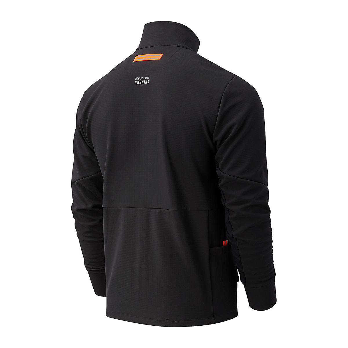 Men's New Balance Impact Run Winter Jacket - Color: Black - Size: S, Black, large, image 2